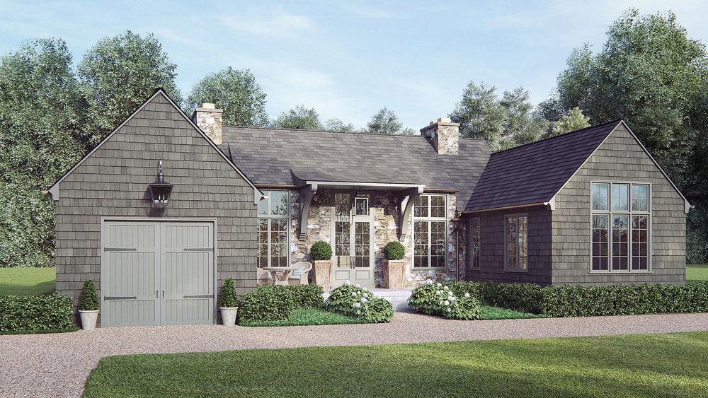 Horseshoe House Rendering