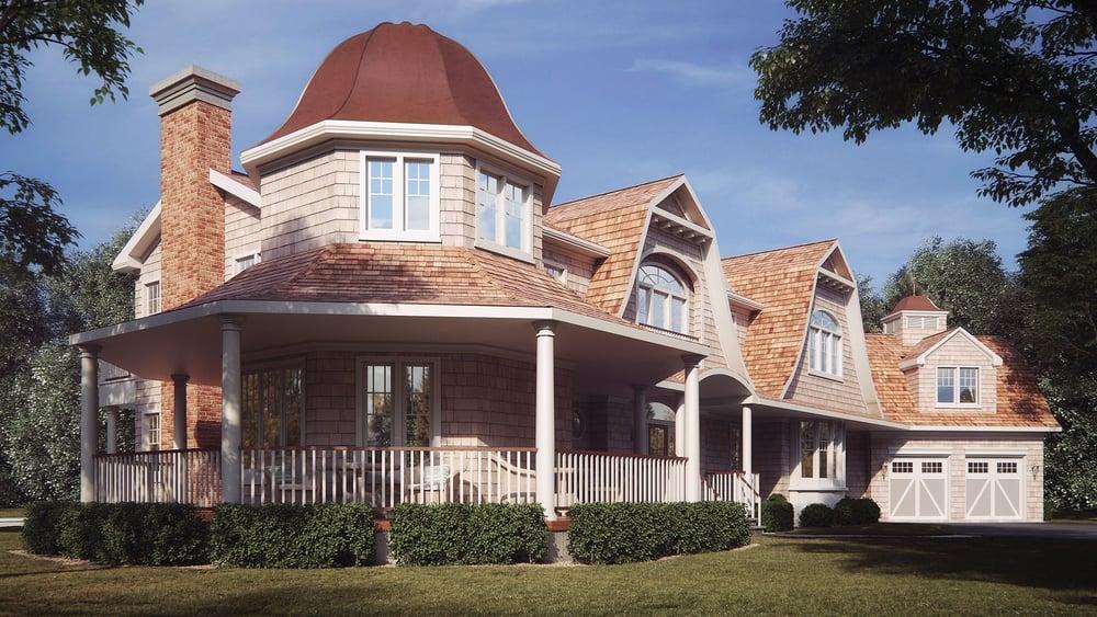 485 House Rendering