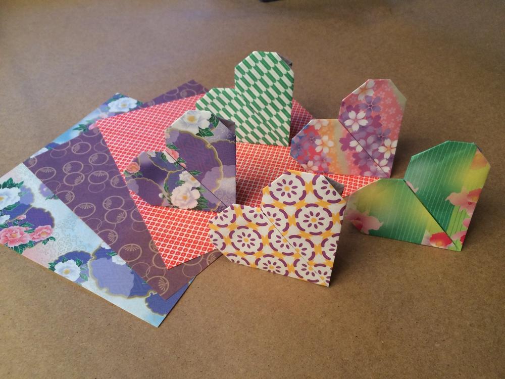 Origami Heart Make and Take