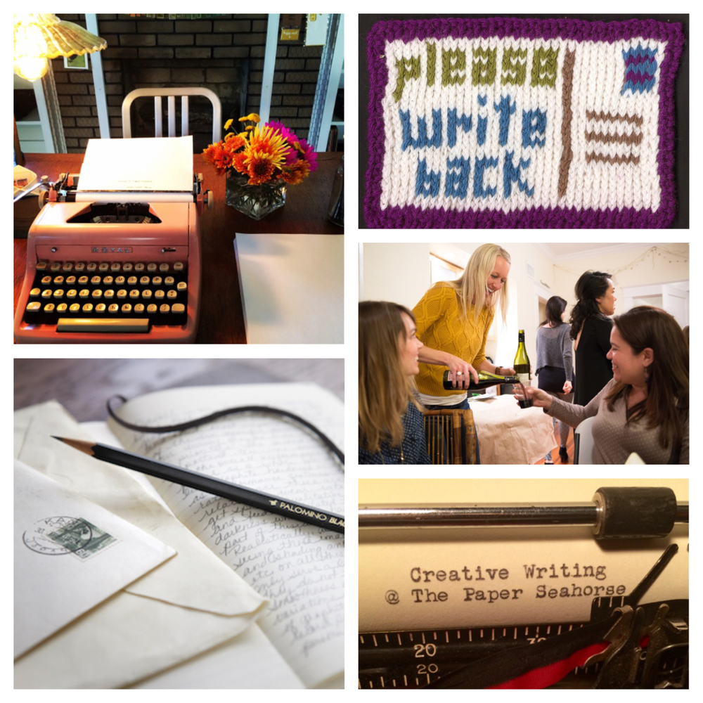 WRITING EXPO DAY will be on Saturday April 25th from 9am - 6pm.  It is a special day filled with classes and a free community event!