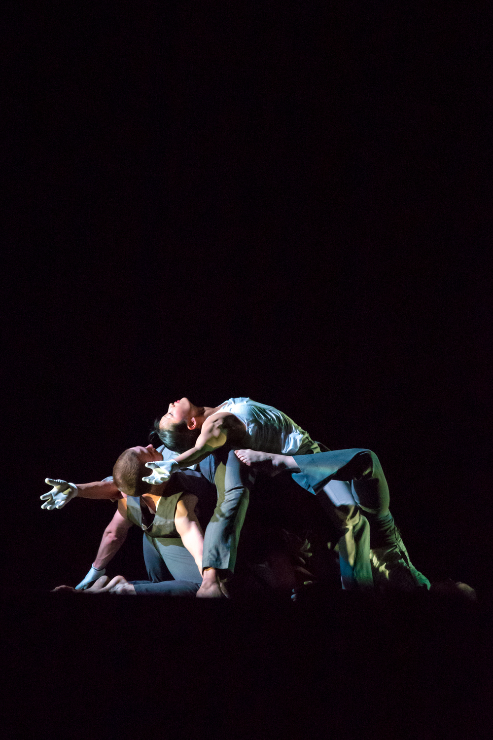 Pilobolus performing at the Paramount Theater in Austin, Texas