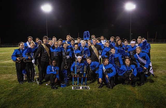 It was an exciting weekend for the Eastview Marching Band. The show keeps getting better with a new ending, and they took first place at the Waseca Marching Classic. So proud of @annieshelleny, @wjshell and the band. . . #evmb #marchingband