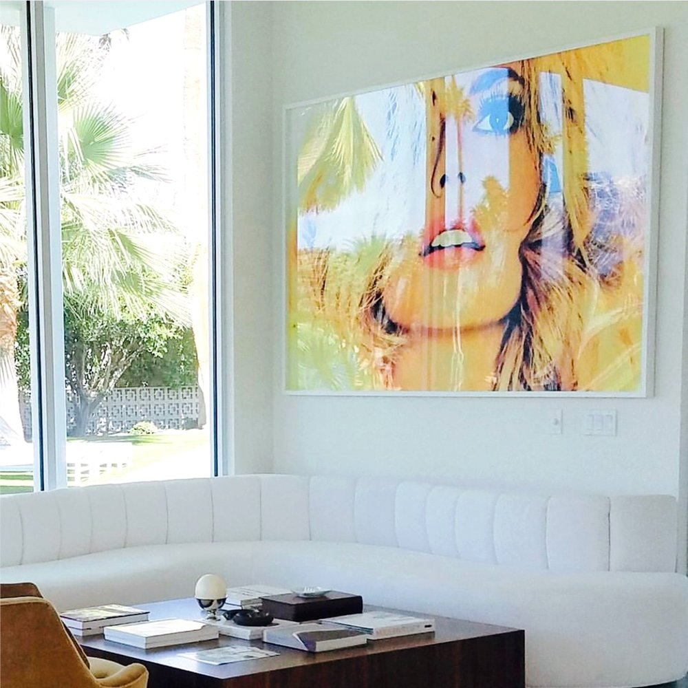 60x90 print, Palm Springs, CA