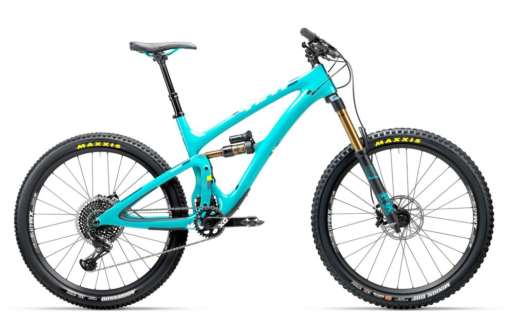 SB6 - The SB6 TURQ Series frame is built with the latest carbon technology. Tested and verified by Enduro world champion, Richie Rude. Size M & L.