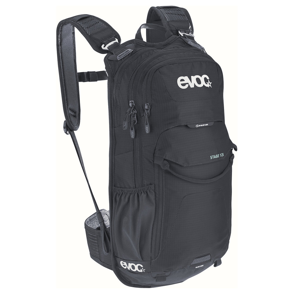 STAGE 12l - With the EVOC STAGE 12l you get a compact technical daypack with excellent features. It's the number one pack for those looking to ride their bike with little equipment.