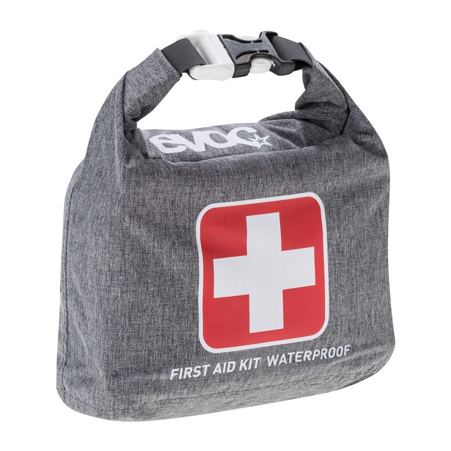 FIRST AID KIT - The EVOC FIRST AID KIT WATERPROOF is an emergency kit for performing first aid in open terrain.