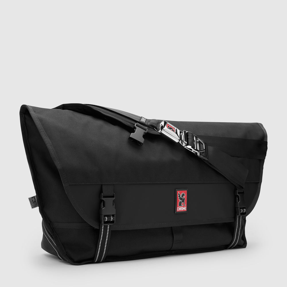 METROPOLIS MESSENGER - Original. Iconic. Their largest messenger bag with quick-release seatbelt buckle. Made in Chico, CA. Guaranteed for Life.