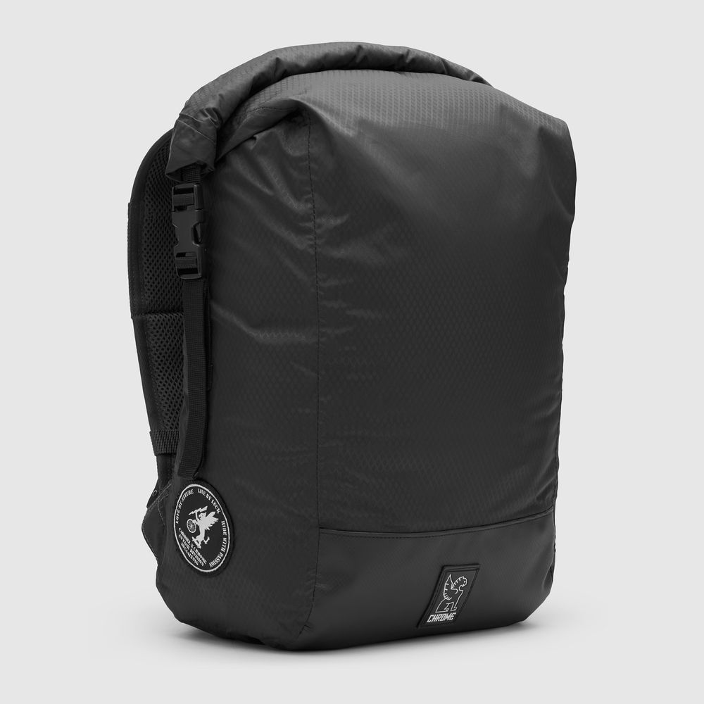 "THE CARDIEL ORP BACKPACK - The Operation Readiness Pack, (O.R.P) is a ultra-light, water-resistant, seam-taped, roll-top backpack. Perfect for daytrips. Internal back pocket fits 13"" laptop sleeve."