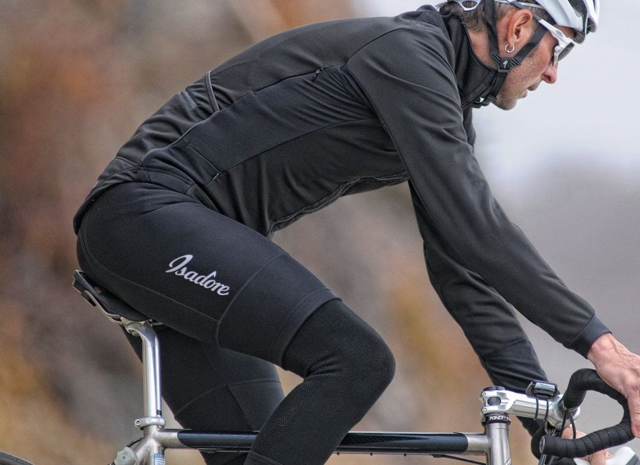THERMOROUBAIX BIB SHORTS - Designed to make cold weather your cycling partner. Excellent insulation. Water repellent thanks to DuPont™ Teflon® treatment.