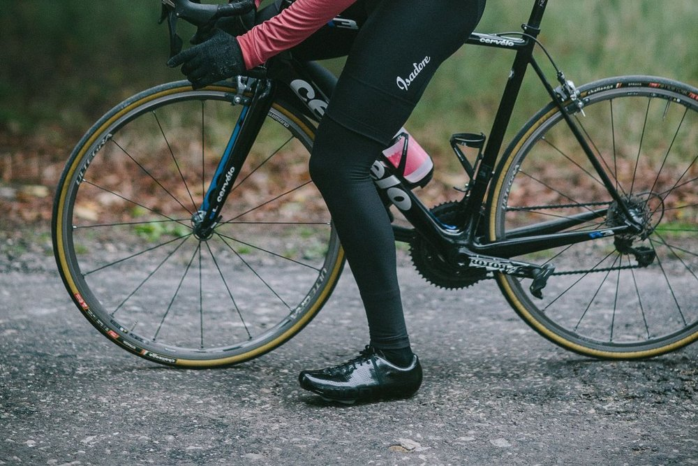LYCRA LEG WARMERS - Constructed from finest Italian ThermoRoubaix Lycra® material with DuPont™ Teflon® Fabric Protector to enhance the ability of the fabric repel water and dirt.