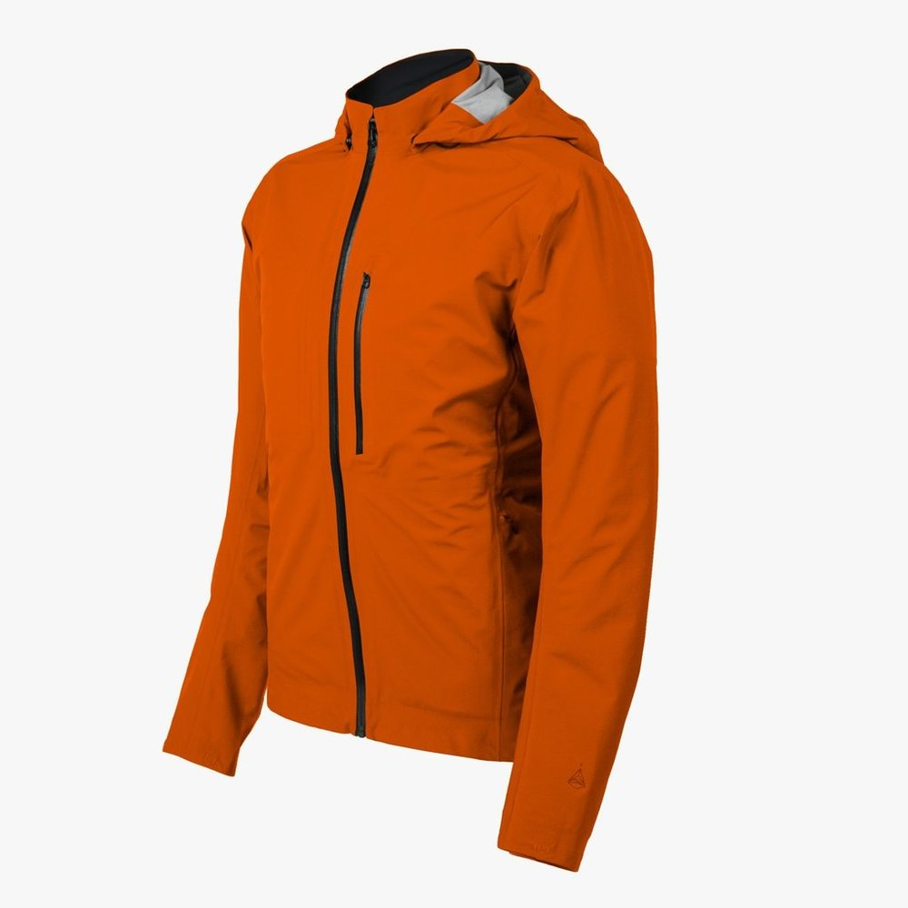 THE MERIDIAN ALPINE - Waterproof Ultralight Cycling Jacket. The Meridian Alpine is rugged, it packs small, it's waterproof, and tailored for bit better for on-the-bike fit.