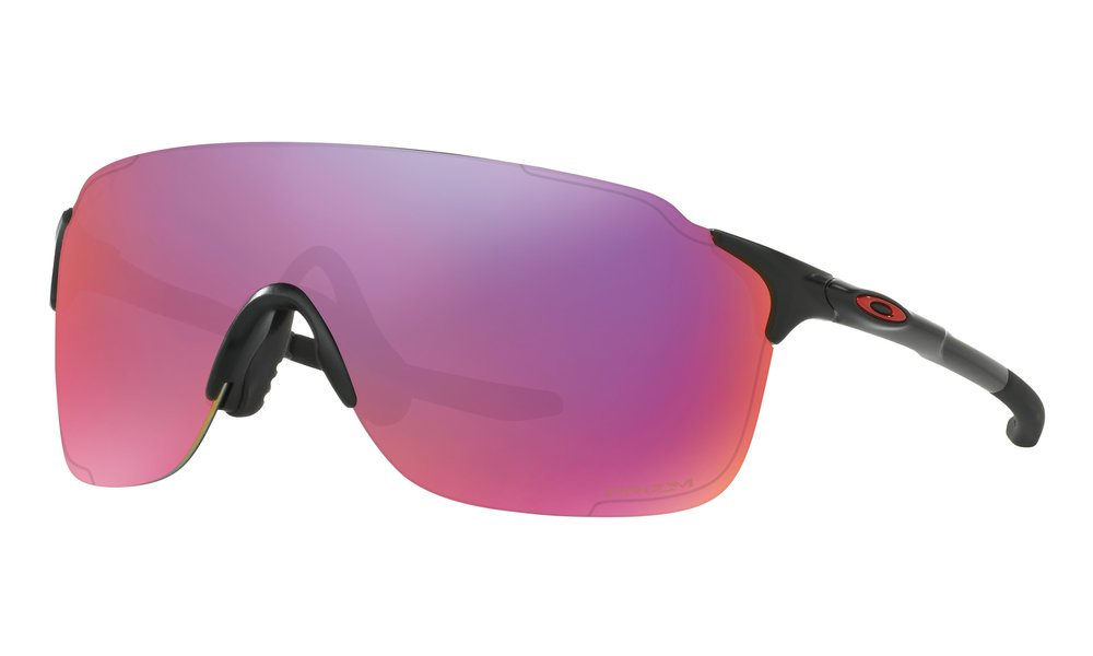 EVZERO™ STRIDE PRIZM™ ROAD - Oakley's lightest performance frame comes with the unobstructed view of a sweeping Plutonite® lens.