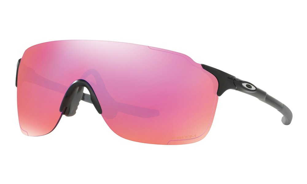 EVZERO™ STRIDE PRIZM™ TRAIL - Oakley's lightest performance frame comes with the unobstructed view of a sweeping Plutonite® lens.