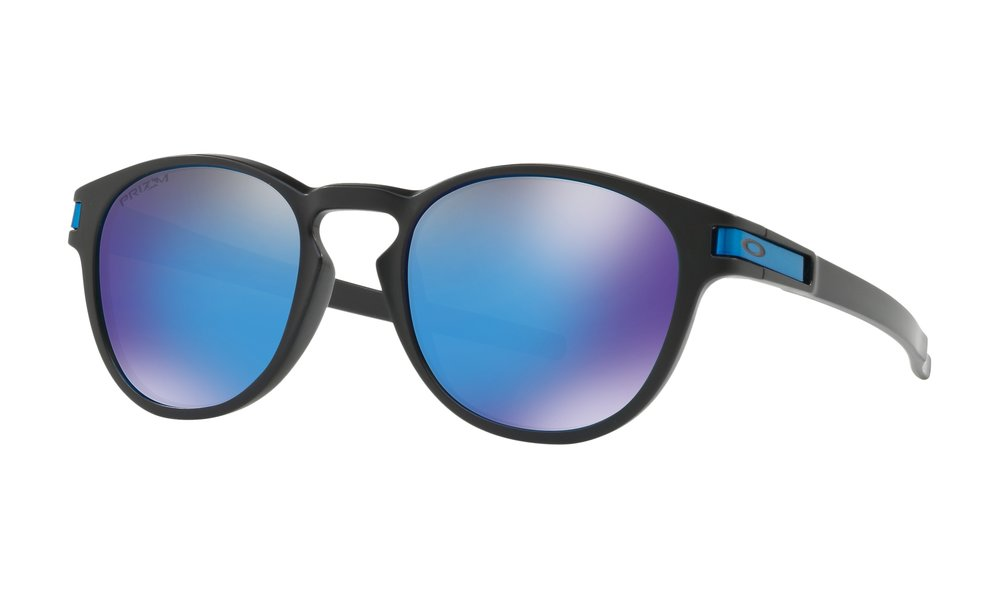 LATCH™ PRIZM™ - A creative collaboration from the world of skateboarding, this design inspired by influential athletes is shaped with a classic keyhole bridge and the curves of rounded lens orbitals.