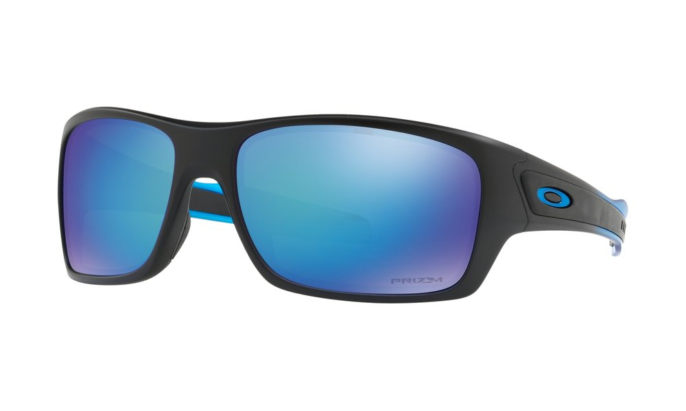 TURBINE™ PRIZM™ POLARIZED SAPPHIRE FADE COLLECTION - Turbine™ cranks up the active look with interchangeable icons plus inset zones of sure-grip Unobtainium®.