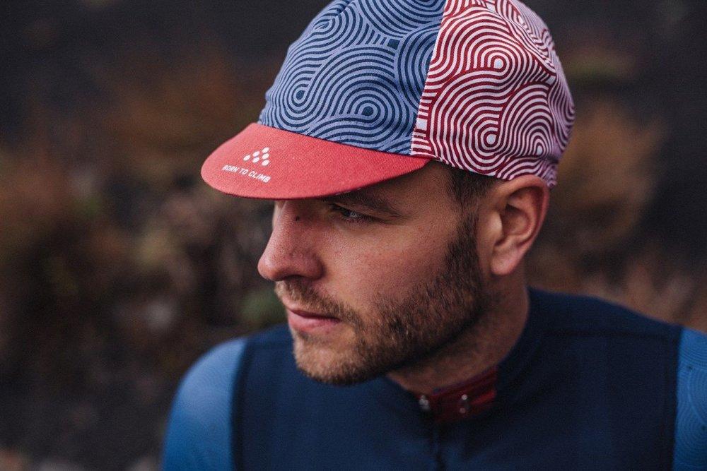 CLIMBER'S CAP ALBULA - 100% cotton italian styled cap.