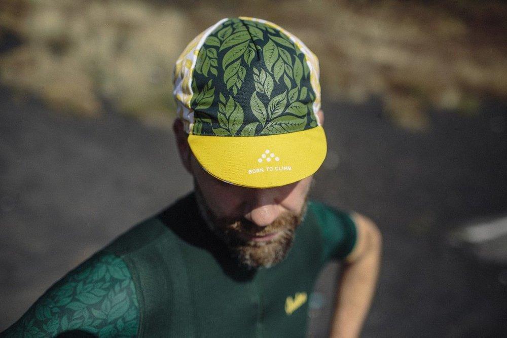CLIMBER'S CAP ANGLIRU - 100% cotton italian styled cap.