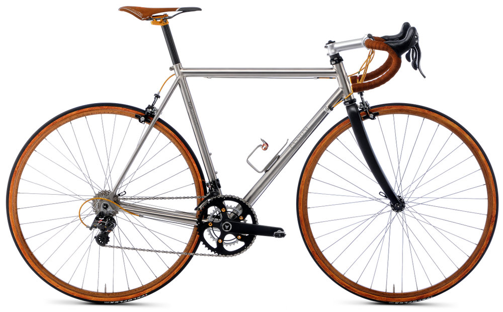 TOP GENESIS - The original Passoni frame. A bike which delivers beauty and comfort combined with traditional geometry.