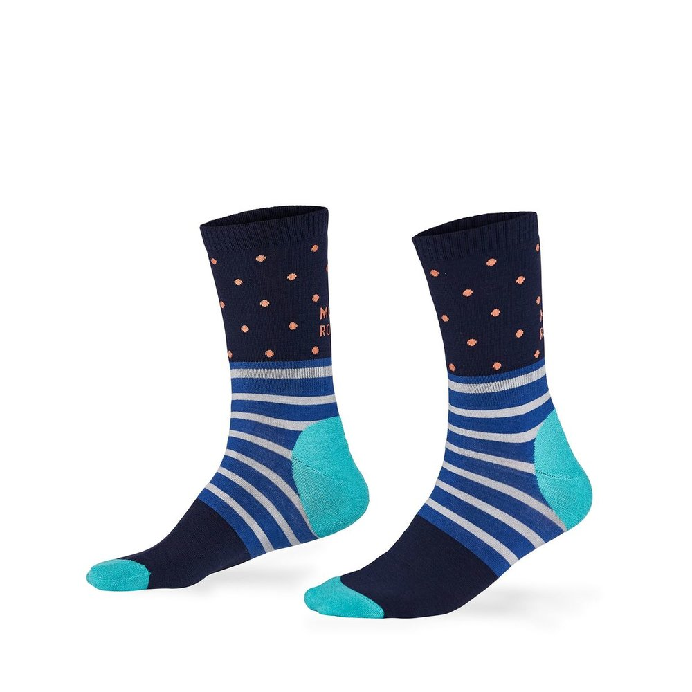 All Rounder Spots Crew Sock