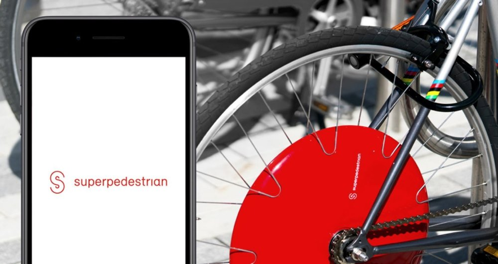 STATE OF THE ART SECURITY - Your smartphone is the digital key to unlock, secure and ride the Copenhagen Wheel. Sorry thieves that love red.
