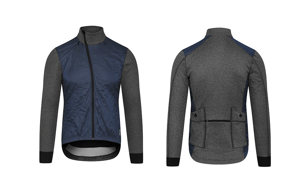 c88ca71dec0 CAFÉ DU CYCLISTE Heidi Cold Weather Cycling Jacket Navy Men — Cycle Store  Zurich