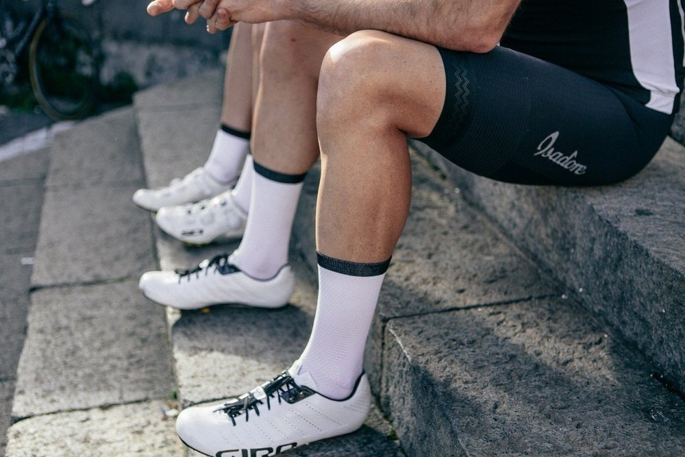 CLIMBER'S SOCKS WHITE - Their new Climber's socks are beautifully designed and provide extreme wicking and breathability.