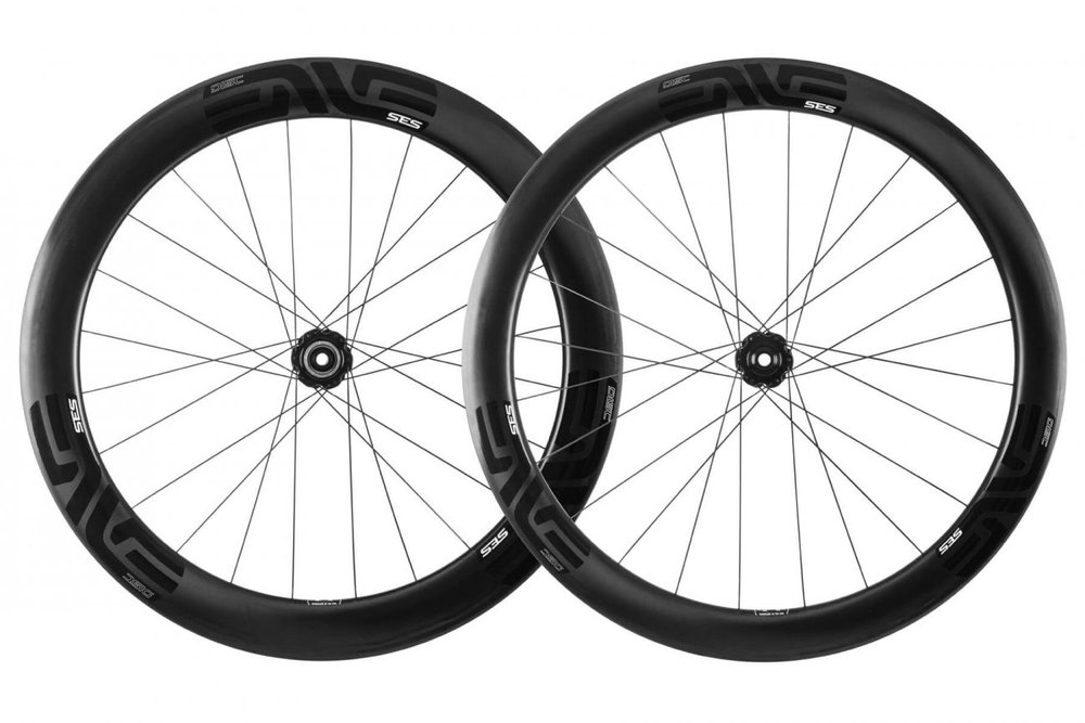 SES 5.6 DISC - The ultimate disc brake specific, aerodynamic, and lightweight road race wheelset.