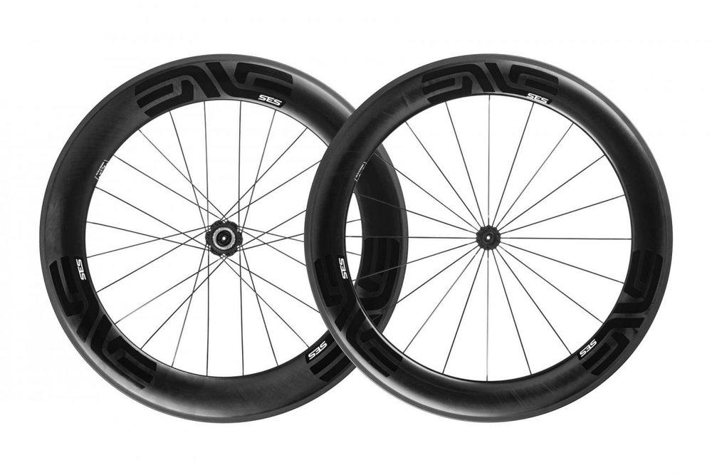 SES 7.8 - The fastest carbon fiber Smart ENVE System aero wheel yet.