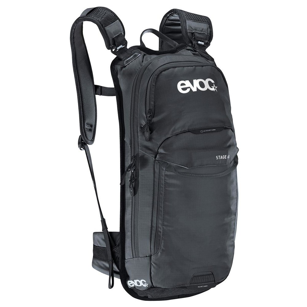 EVOC STAGE 6l - The EVOC STAGE 6l is a technical bike backpack with numerous features and details, making it the perfect choice for short enduro rides or manoeuvres in the park.
