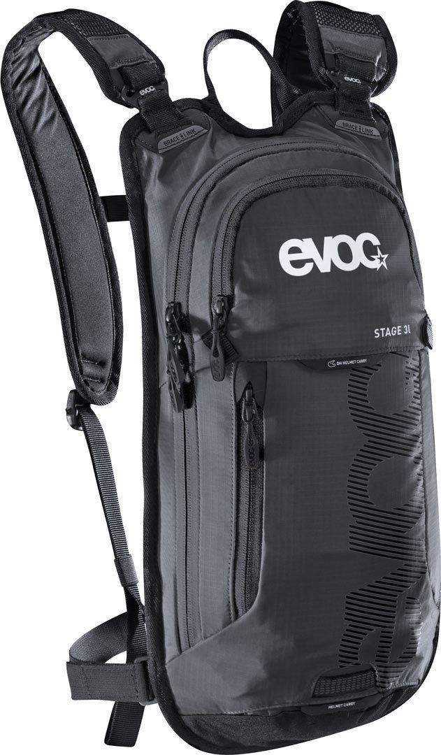 EVOC STAGE 3l - The EVOC STAGE 3l is a reduced, technical light backpack that has been developed to ensure optimal liquid supply at high temperatures and during fast bike races.