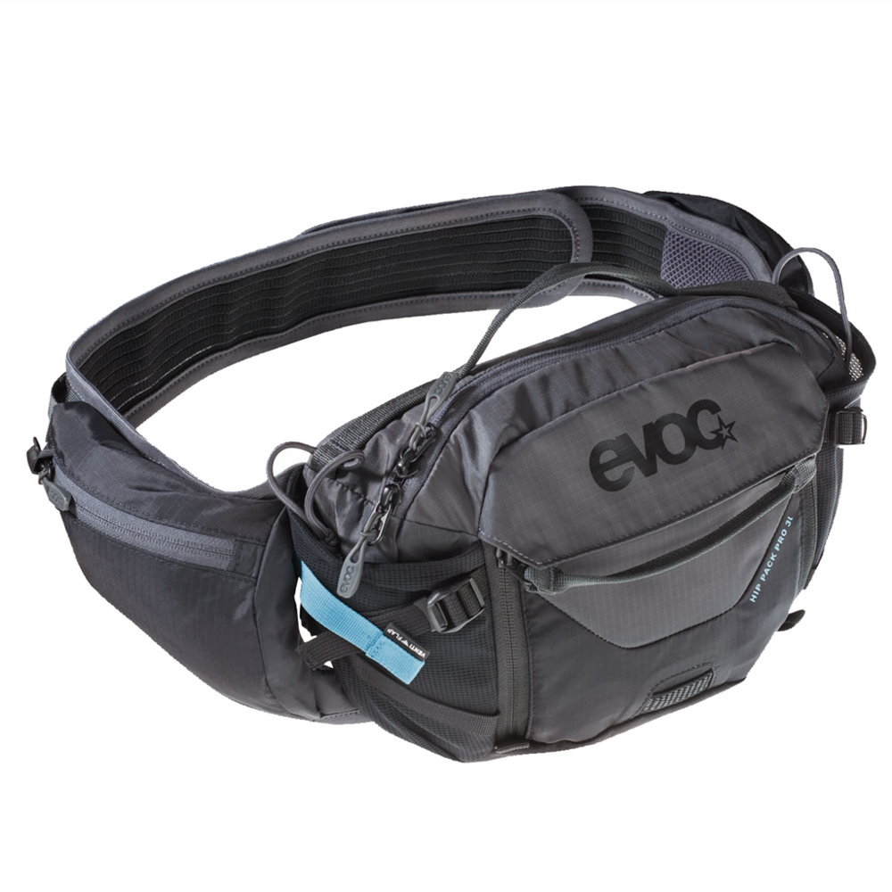 HIP PACK PRO 3L - High tech, back-free, ventilation optimised carry device for hydration and other essential needs on shorter rides.