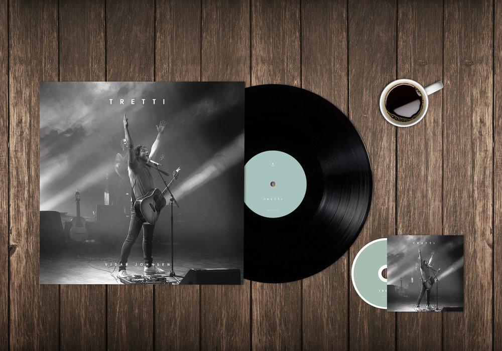 Album cover LP og CD