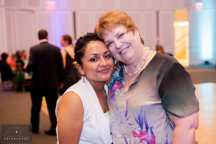 Scholar Emerita with her Sponsor Kimberly at last year's Gala