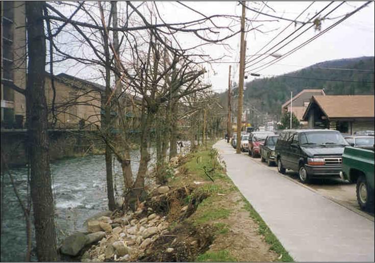 Previous riverwalk.