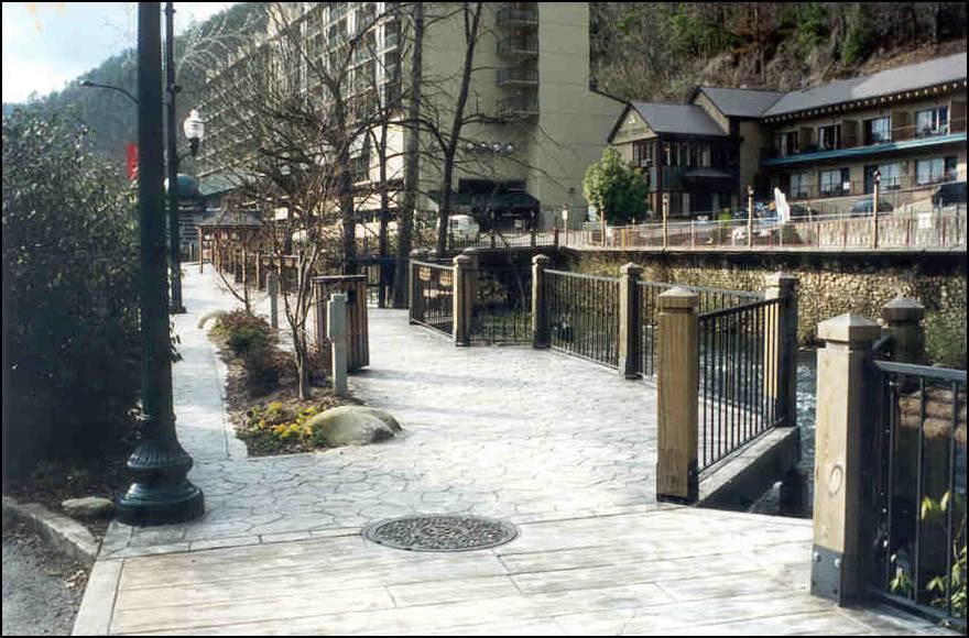 New riverwalk.