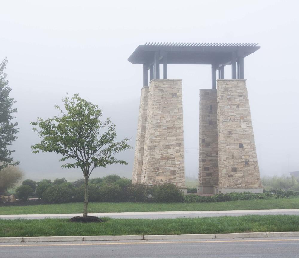 Entry Pillars