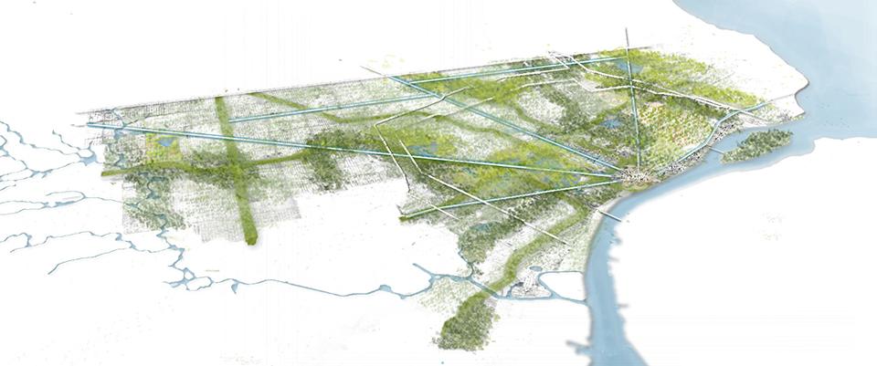 Stoss Landscape Urbanism - Detroit