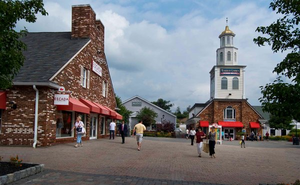 The tower building at Woodbury Common Premium Outlets will be demolished Credit: Simon Property Group