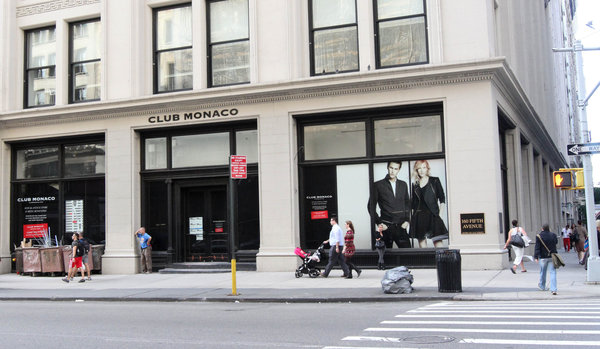 Strand and Toby's Estate Coffee will set up shop in the Club Monaco store, 160 Fifth Avenue. Credit: Tina Fineberg for The New York Times