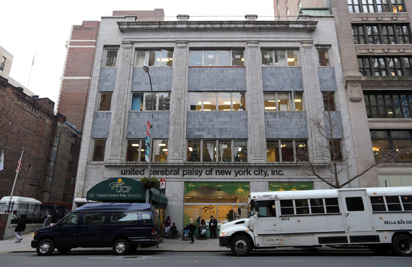 United Cerebral Palsy of New York City's headquarters at 122 East 23rd Street sold for $135 million.   Marilynn K. Yee/The New York Times