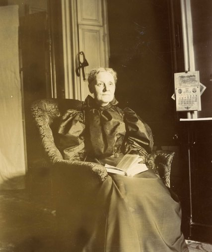Ella Wendel, the last of the clan, died in 1931.  Credit Wendel Family Papers, Special Collections and Archives, Drew University Library