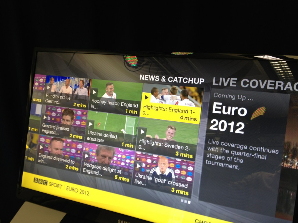 New BBC Sports app for Sony Playstation. Looks like some nice work. Remind me, who needs YouView?