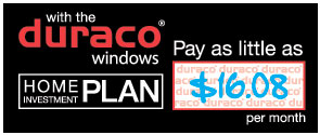 With the duraco windows home investment plan pay as little as $16.08 per month