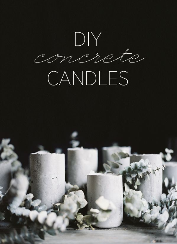Diy concrete candles a tutorial for once wed philosophy flowers diy concrete candles a tutorial for once wed junglespirit Choice Image