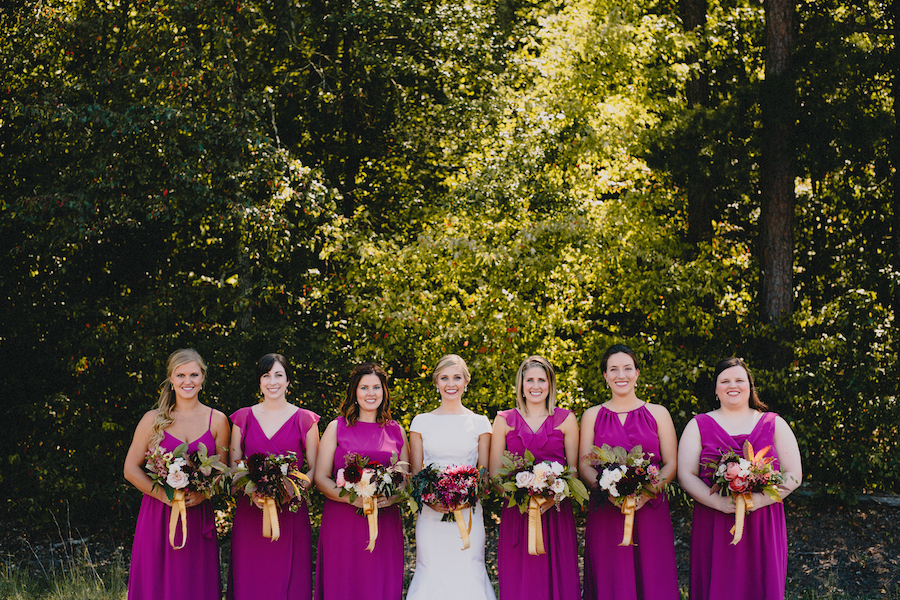 Bridesmaid Dresses | Bridal Party | Philosophy Flowers | Kelly Perry | Blest Studios