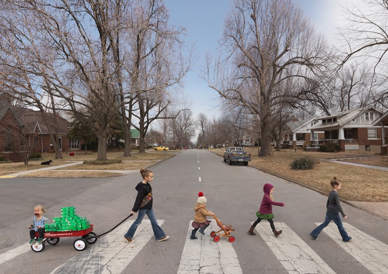 Thin Mints, 2014 by Julie Blackmon. Image from julieblackmon.com