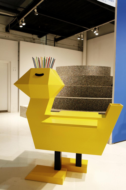Chicken Desk by Guillaumit
