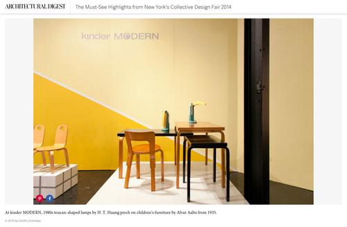 Architectural digest u2014 kinder modern