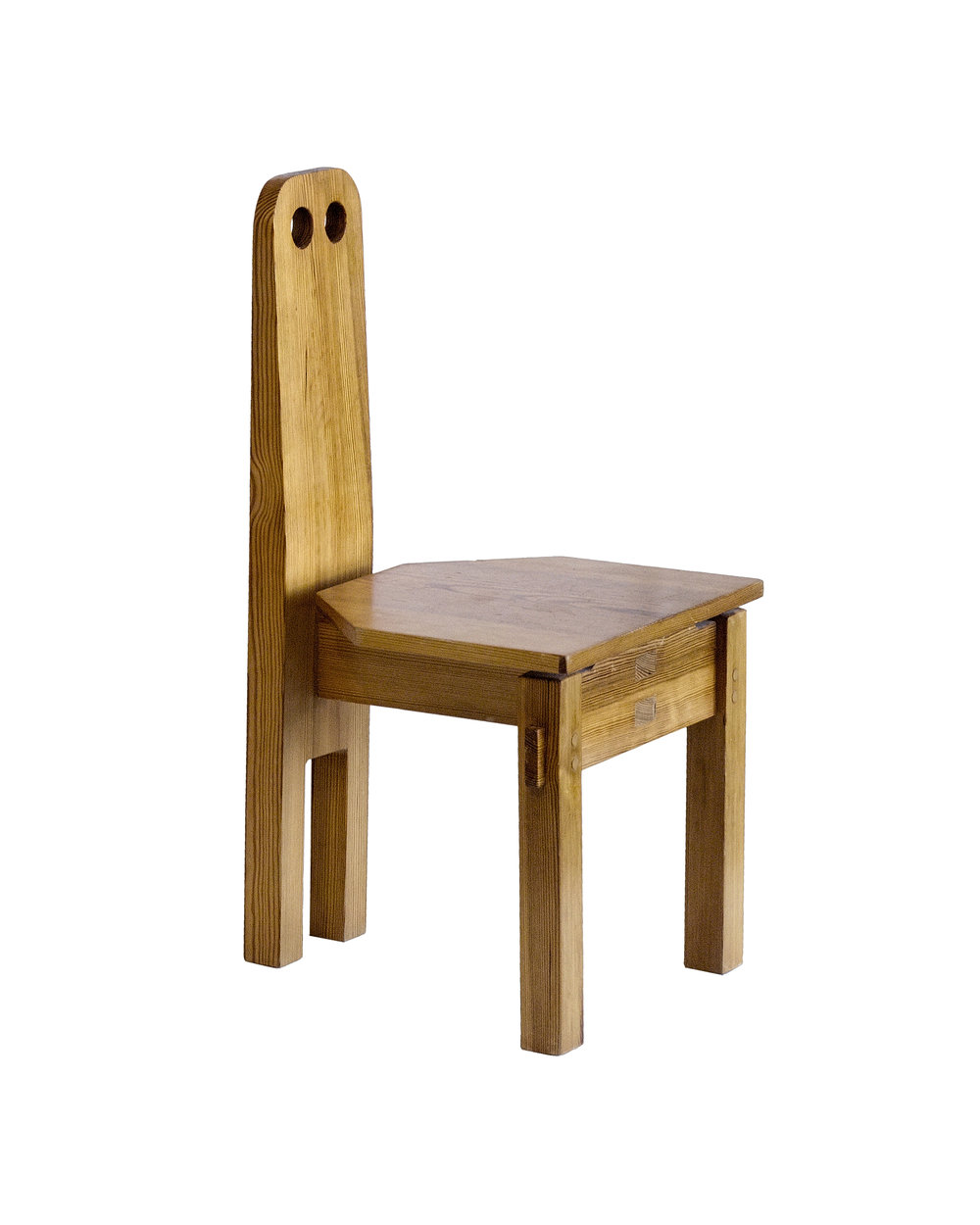 Dieter Gullert Children's Chairs Dieter Gullert Germany 1967 Wood H 27.5 in, W 13.75 in, D 15.5 in (SH 9.5 in)  LIST PRICE: $3,500 DESIGNER DISCOUNT PRICE: $2,975 LEAD TIME: 3-5 Days Shipping & Handling QUANTITY IN STOCK: 2 ONLINE PLATFORMS: kM Web, Artsy, 1st Dibs