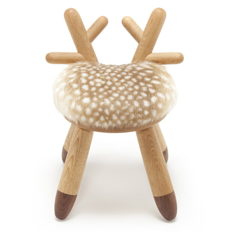 Bambi Chair Takeshi Sawada (Japan) Elements Optimal Netherlands 2015 Oak, walnut, and nylon H 15.75 in, W 10.6 in, D 11 in (Seat: H 12.6 in) LIST PRICE: $385 DESIGNER DISCOUNT PRICE: $327.25 LEAD TIME: 3-5 Days Shipping & Handling QUANTITY IN STOCK: 1 ONLINE PLATFORMS: kM Web, 1st Dibs, Artsy